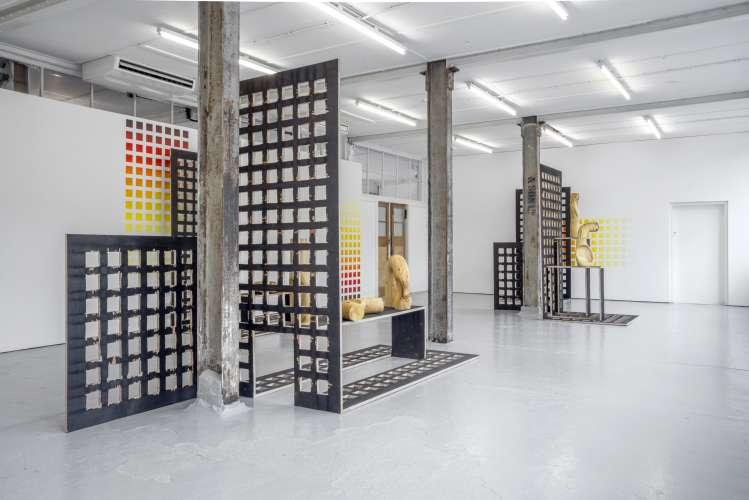 Claudia Comte | Sharp Sharp, Installation View