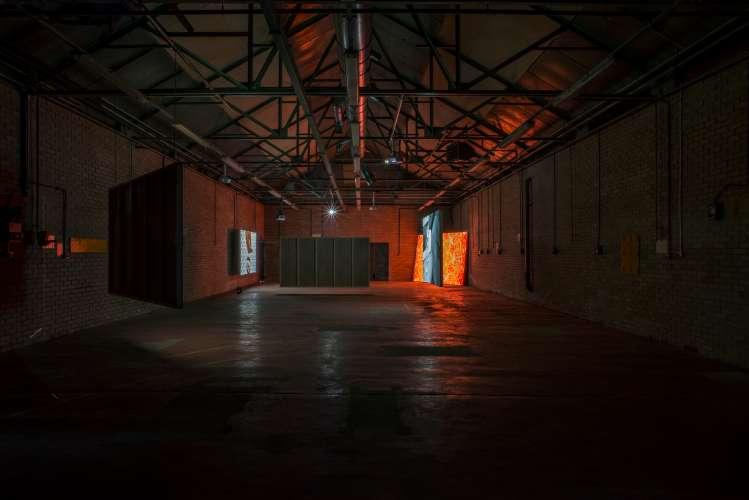 International Artist Initiated | Video Art Network Lagos, Installation View