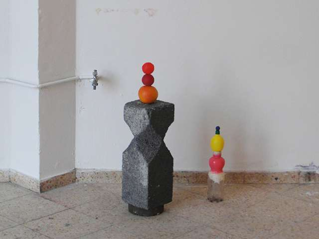 Schneeeule o.T. Materialtransformationen Philipp Poell curated by Anne Fäser & Anna-Lena Wenzel
